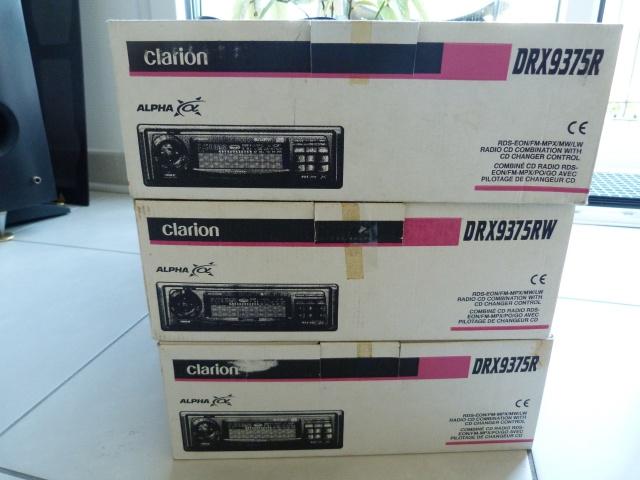 Les Clarion DRX 9175 et 9375, bombes musicales ! 528144P1130144