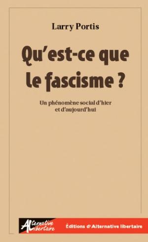Larry Portis - Qu'est-ce que le fascisme ? 531705300Couv20Portis405