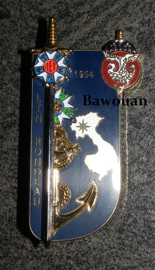 Une dernière prise d'armes pour le 5ème BPVN (Février 1954) 532390009