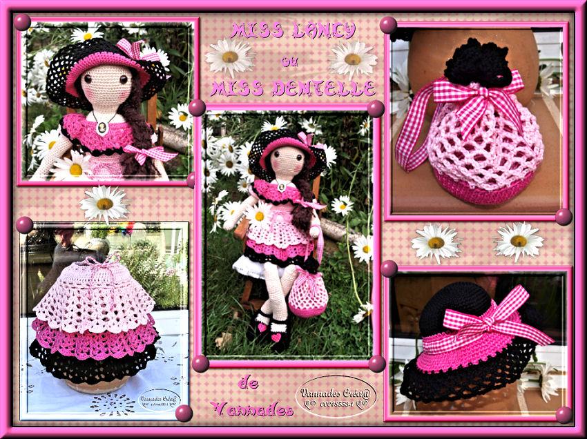 """Miss """" Lancy"""" poupée au crochet 532498CrationavecmaMiss"""
