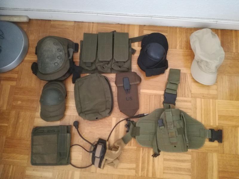 M4, Steyr Aug, AKSU, M23 Pioneer et accessoires 534125IMG20170702140620