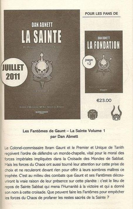 Les Fantômes de Gaunt omnibus 534217Lasainte