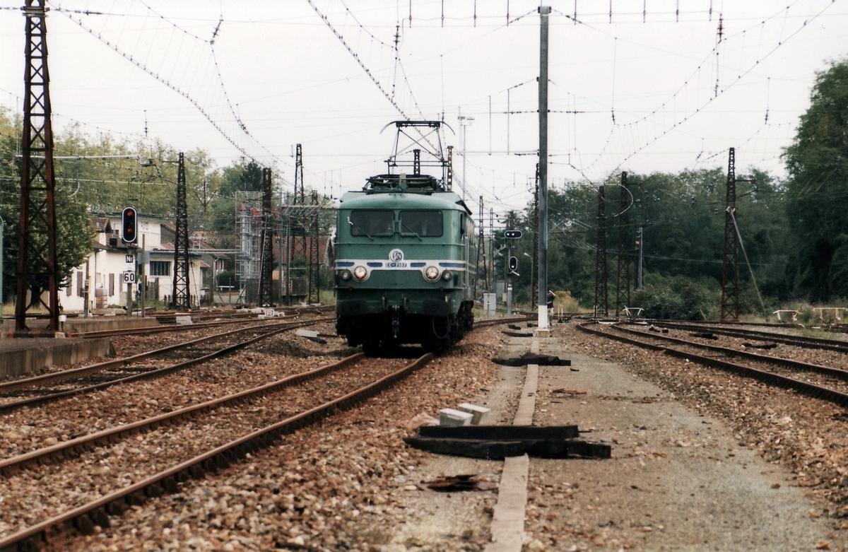 1999 - CC7107 train spécial IFC 2 octobre - Département des Landes 534417cc710719991002Puyo1