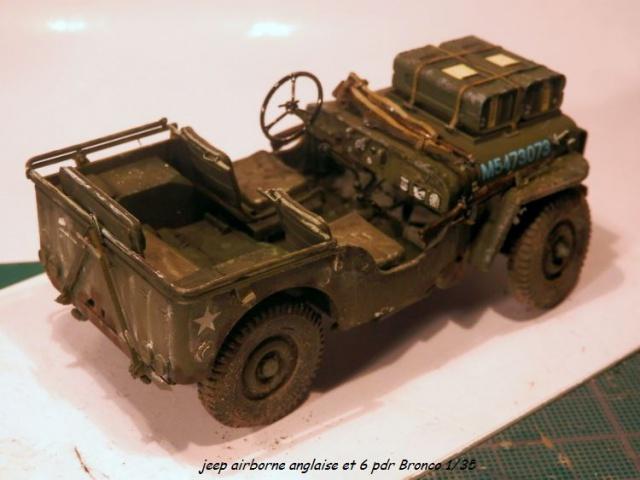 6 pdr ,jeep ,équipage airborne Bronco 1/35 (sur la route de Ouistreham) 534456P5060112