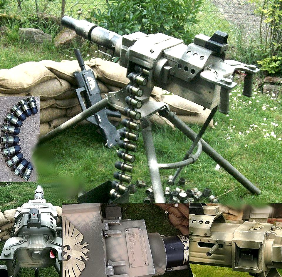 [W40K] Cosplay : the Imperial Guard 538707Elysianfullautomaticgrenadelauncher