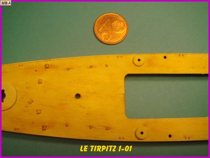 Le TIRPITZ au 1/700ème - DRAGON 539496Tirpitz01