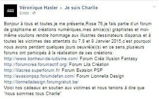 """[ Clos ] Défi exceptionnel """"Je suis Charlie"""" sans vote jusqu'au 15 Janvier 541157jesuischarliefb"""