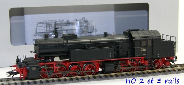 Les locomotives à vapeur articulées 542565MARKLINHOBR96019DRGMallet37968MFXSOUNDR