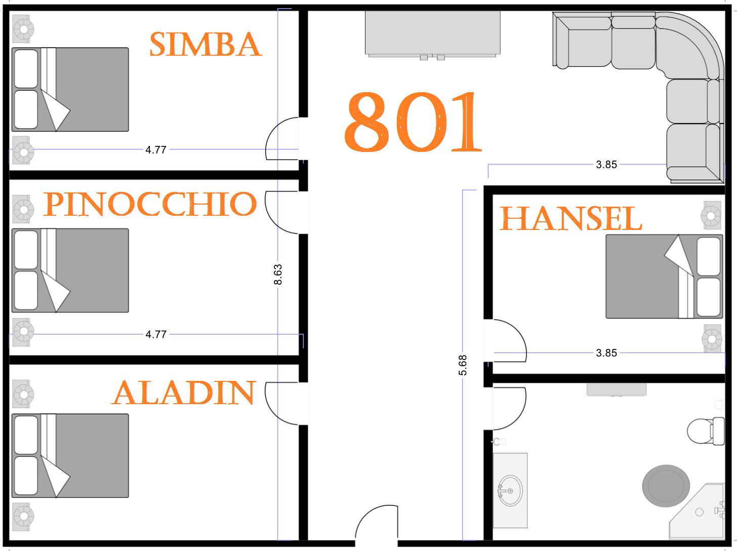 Appartement 801 | réservé aux locataires 544918801