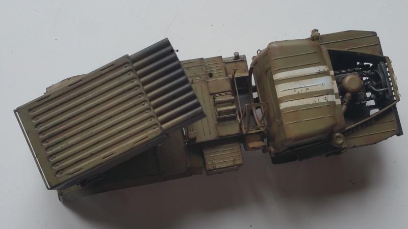 BM-21 GRAD 1/35 TRUMPETER 54628020161110123259