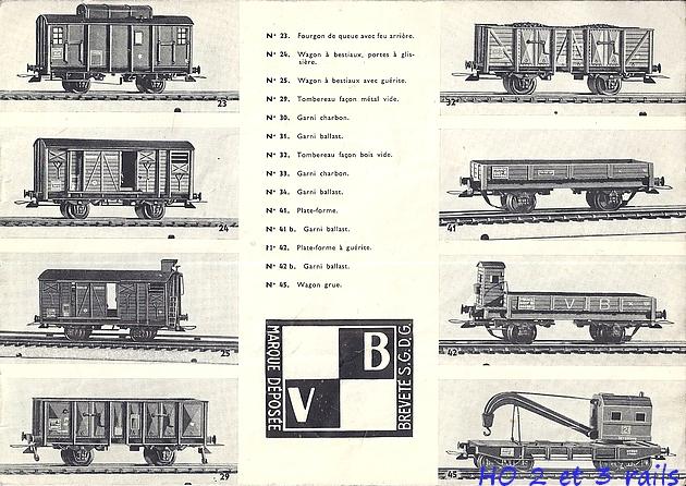 Catalogues 1950 et 1954 couverture photo (extraits) 546694VBcatalogue19503R