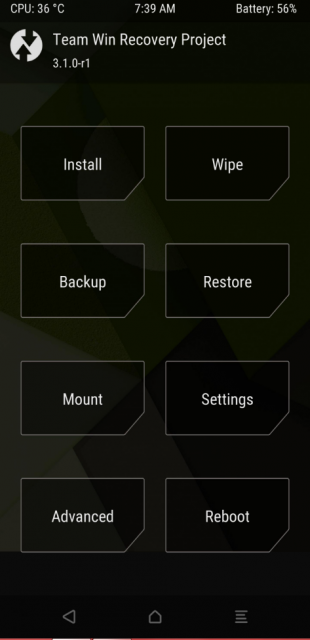 [RECOVERY][OFFICIAL] [UNOFFICIAL] TWRP pour  Galaxy S8 (Exynos) 548816twrp