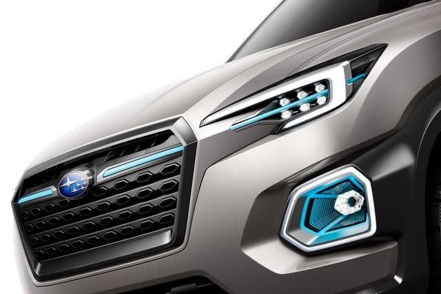 Subaru a dévoilé le concept VIZIV-7 SUV au salon Los Angeles 2016  551010galleryphoto8