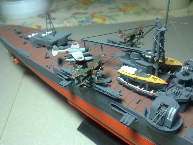 croiseur lourd Mogami au 1/350 par Pascal 94 - Tamiya  - Page 7 551498190120111125