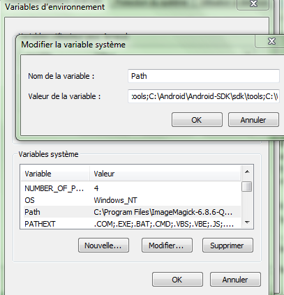 [TUTO] Comment installer le SDK Android [Package SDK Tools][28.11.2013] 552689path3