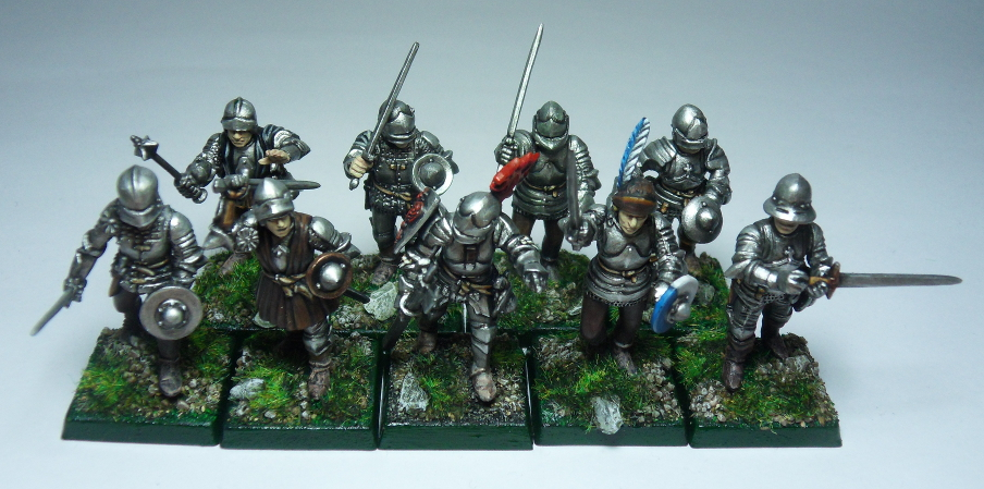 Figurines médiévales (Perry Miniatures) 555347hommesdarmesfinis