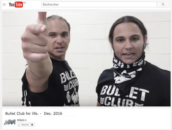 MWA. Youtube Promo. 555579bulletclub
