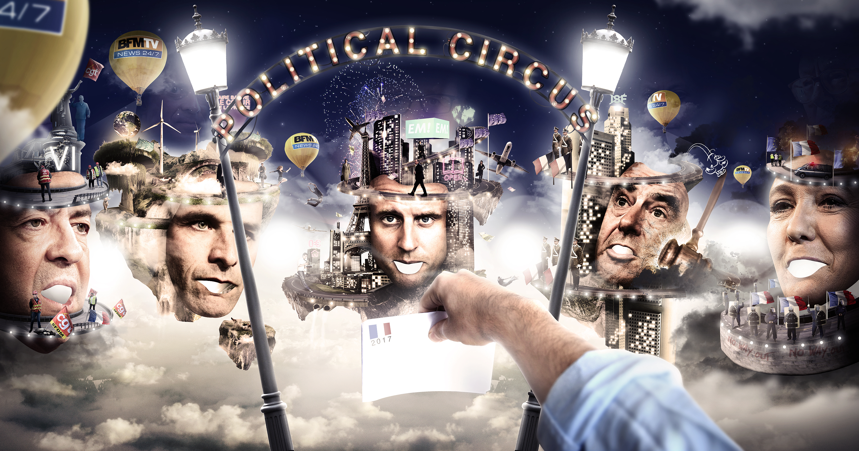 [WIP 85%] The Political Circus (élections 2017) 560395wip7