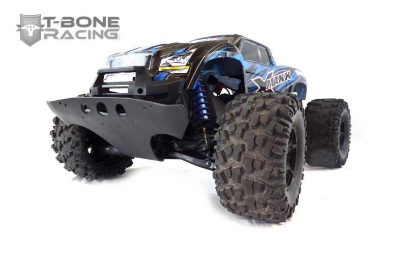 T-Bone Racing sort des chocs avec roulettes anti cabrage et des protections de triangles AV/AR 561049XMaxxBasherFront1072738145618506512801280