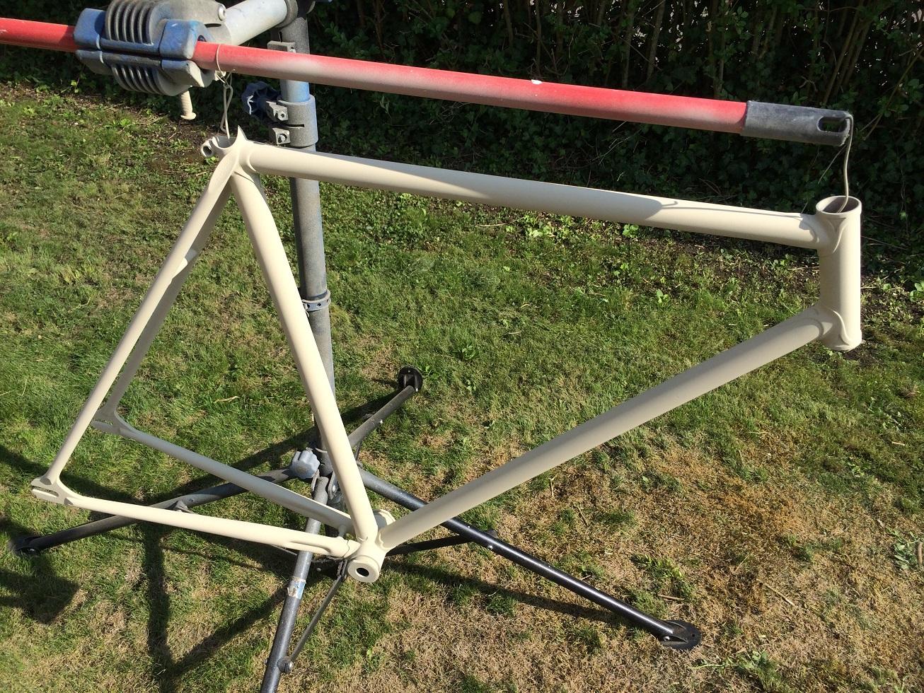 Vélo de piste Jean Marie Brun Tubes Columbus 561115IMG2431
