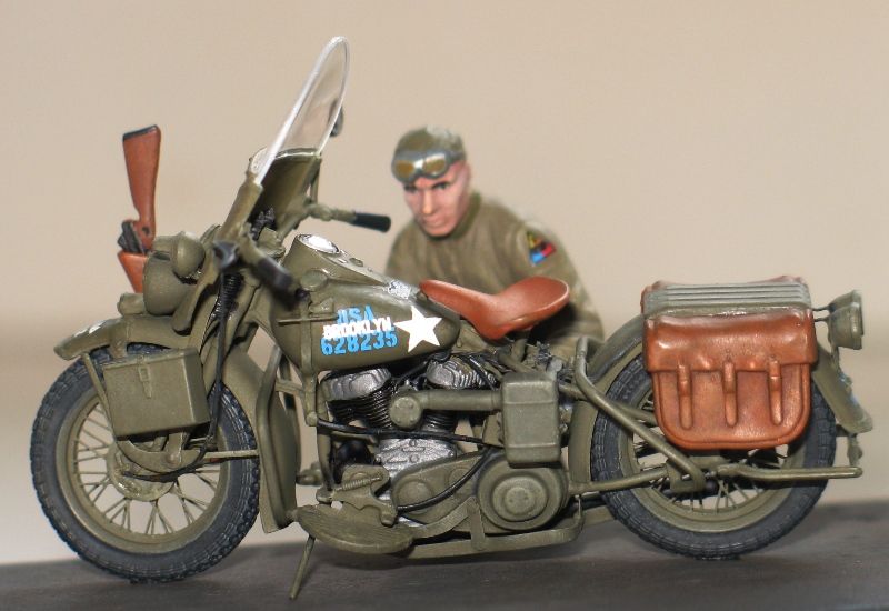 Harley WLA US Army WW2  Miniart 1/35 561148IMG0141