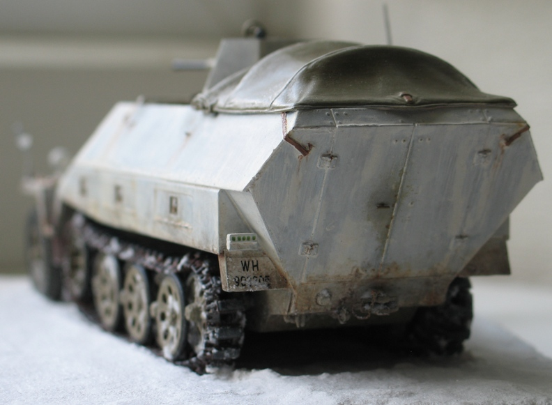 sd.kfz 251/17 ausf D 2cm schwebelafette  Dragon 1/35 562643IMG0068