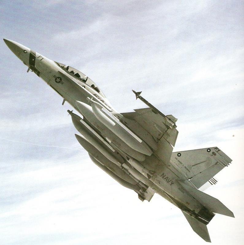 BOEING F/A-18E et F SUPER HORNET  563550BoeingEA18GGrowler