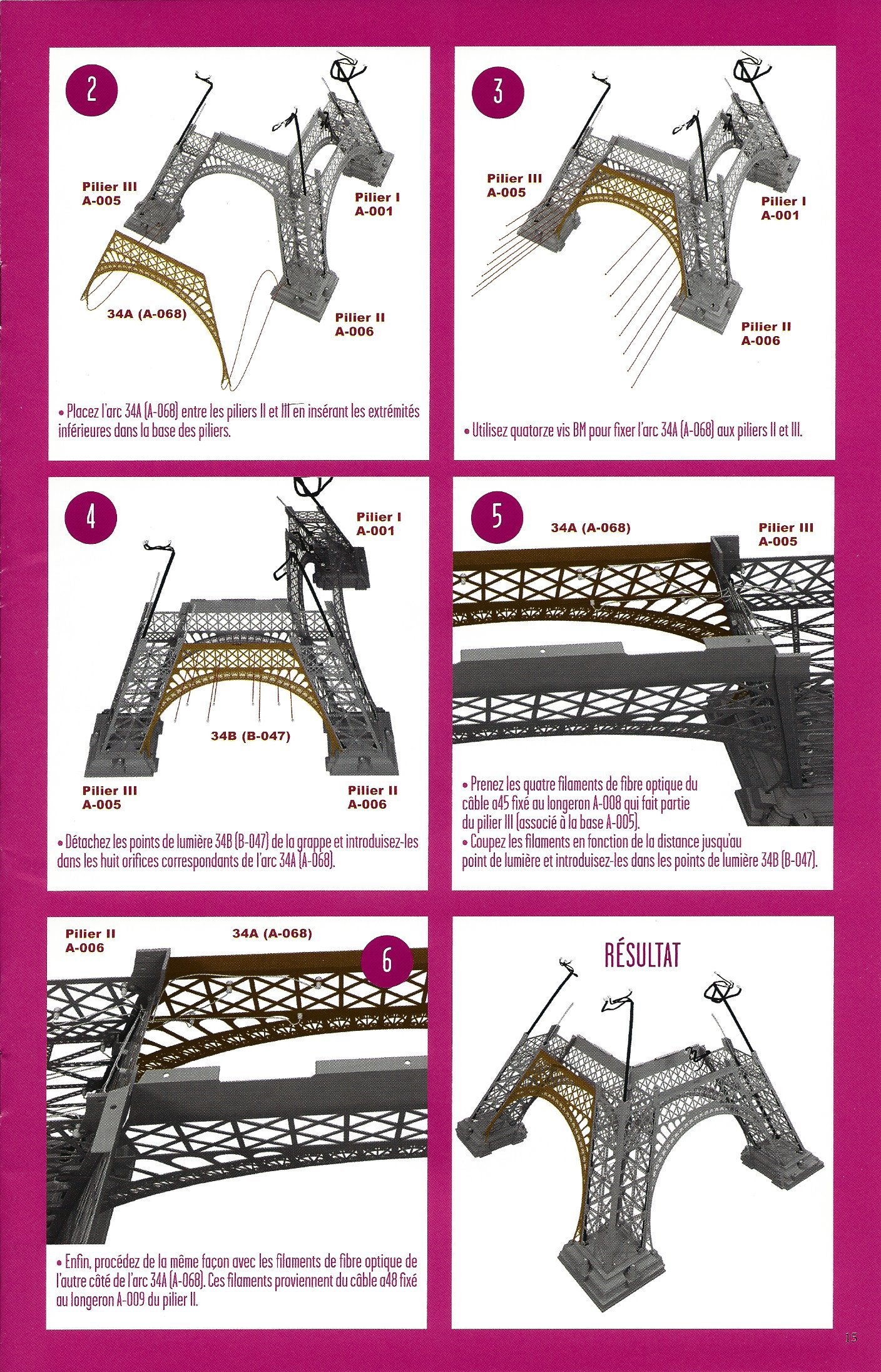 Numéro 34 - Je construis la Tour Eiffel - La tour selon les quatre saisons 56416534c