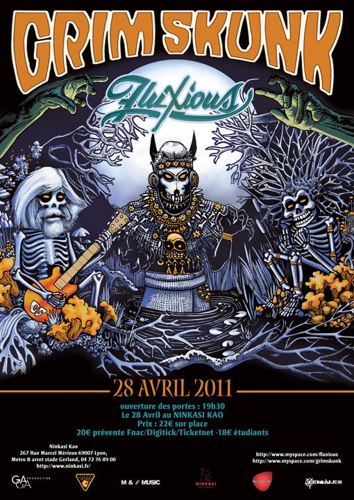 28/04/11 : Grimskunk - Fluxious @ Lyon (Ninkasi Kao) 565416affichegrimskunkfluxious2copie