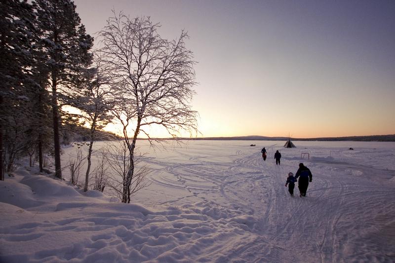 Laponie finlandaise: à la recherche du père Noël 566342313bp