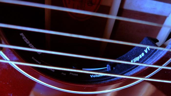 RARE : vds Gibson J-45 wine red +fishman Ellipse 2003 570967Ellipse