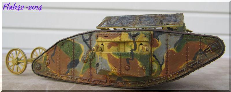 "MK I ""Female"" British tank - Bataille de la Somme 1916 - Master Box LTD - 1/72ème 580178fini1"