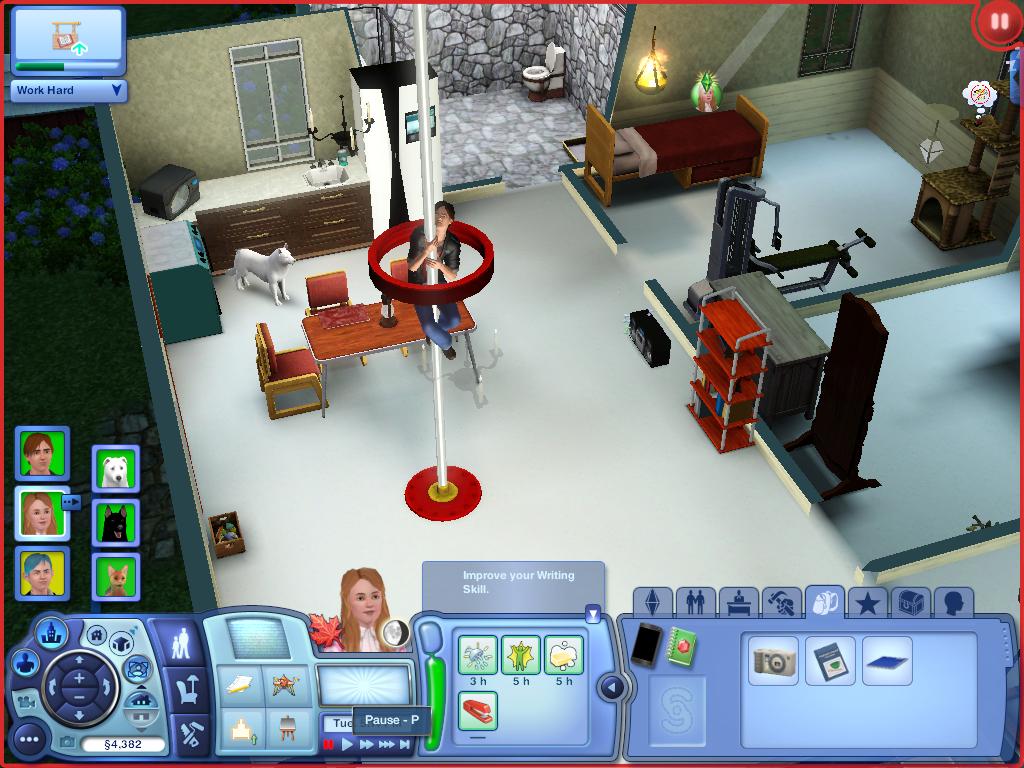 Les Sims ... Avec Kimy ! 585526POOLDANCE
