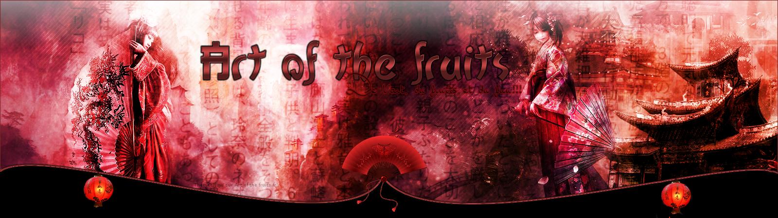 Les thèmes de Art of the fruits. 587095banierechine