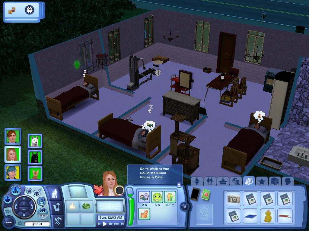 Les Sims ... Avec Kimy ! 5873647enuit