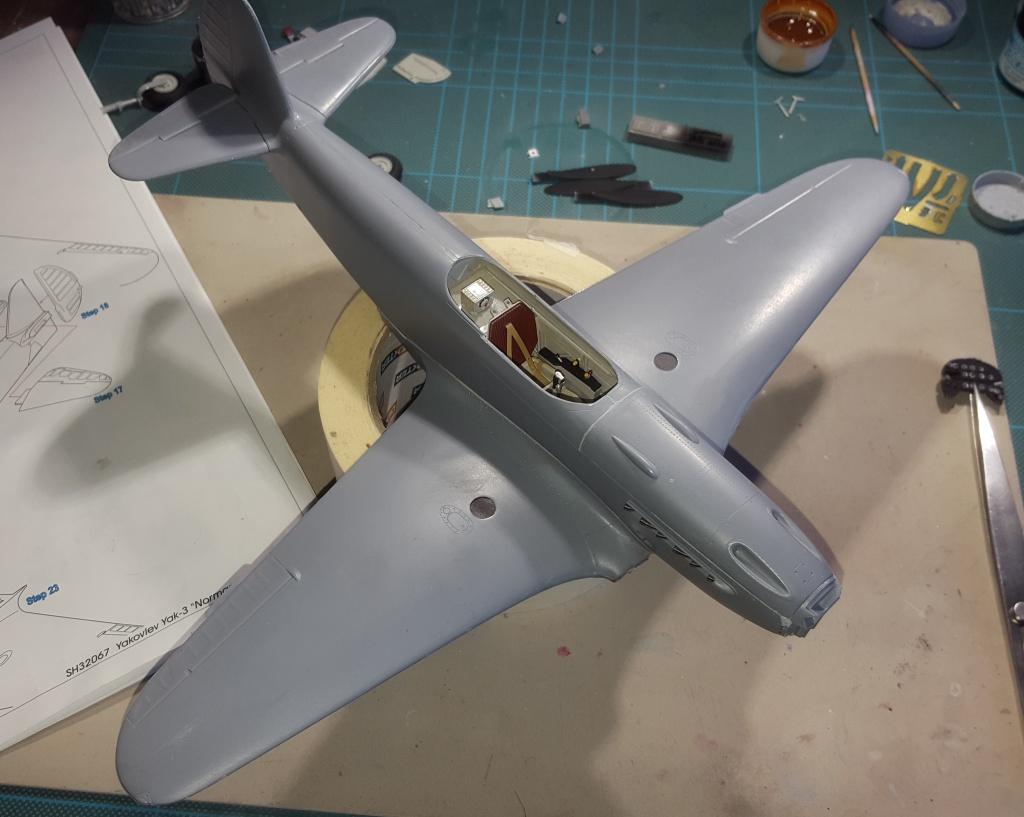 YAK 3 - Normandie Niemen 1/32 Special Hobby - Page 3 58806320161022105008