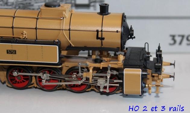 Les locomotives à vapeur articulées 588571MarklinH0Digital3796MalletGt2x44derKBayStsBbeige2R