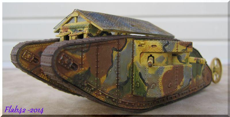 "MK I ""Female"" British tank - Bataille de la Somme 1916 - Master Box LTD - 1/72ème 588671fini3"