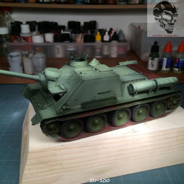 SU-100 marque Dragon 1/35 590893IMG3889