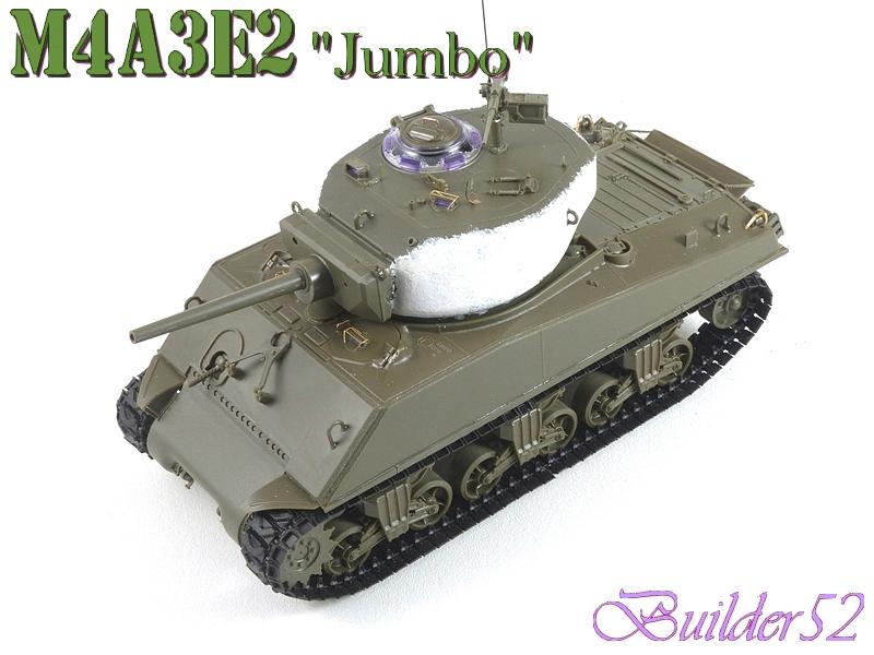 SHERMAN M4A3E2 JUMBO - TASCA 1/35 591229P1050236