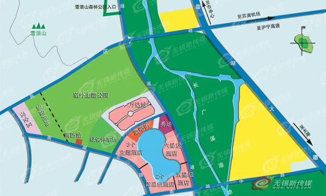 (Chine) Wuxi Wanda Cultural Tourism City avec 2 parcs à thème (2016) 592264WWC