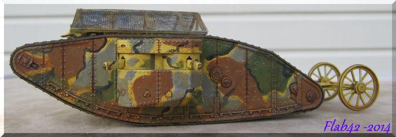 "MK I ""Female"" British tank - Bataille de la Somme 1916 - Master Box LTD - 1/72ème 592272fini2"