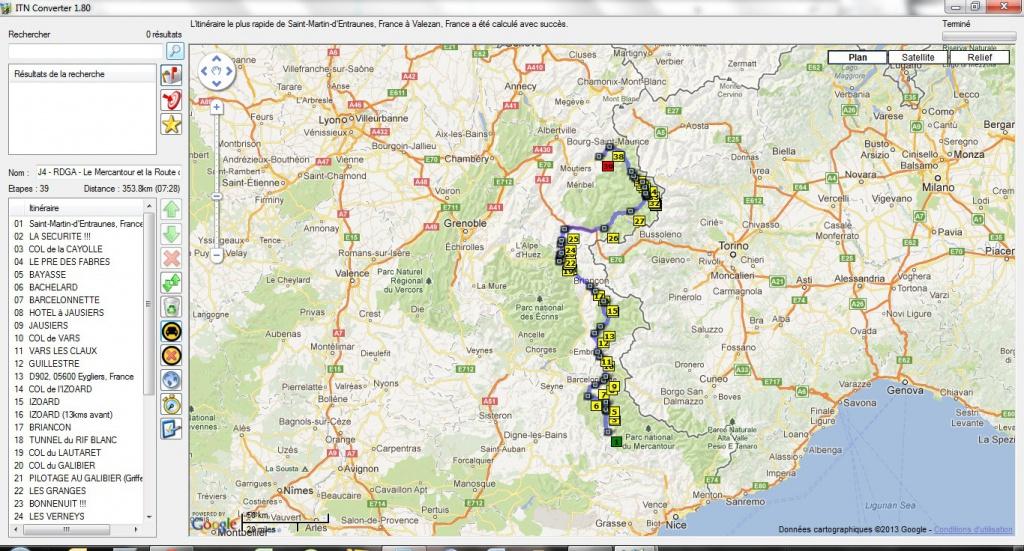 Préparation : LA ROUTE DES GRANDES ALPES - Sept 2013 592561LeMercantouretlesCols360km