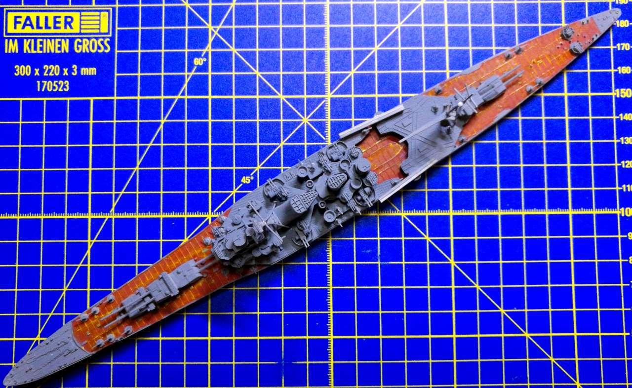 Croiseur TAKAO 1944 1/700 Pit-Road 594013Takao33
