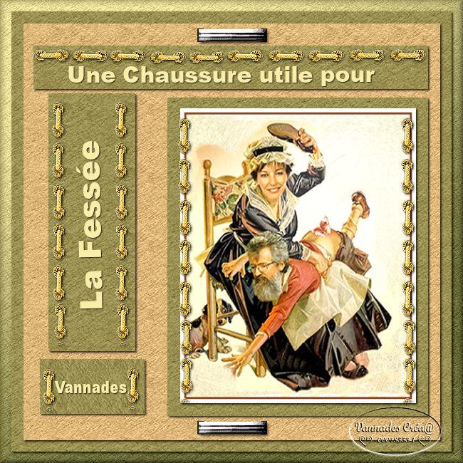 """33 """" La Fessée """" tuto scrap de vannades cré@ 59457033lafesse"""