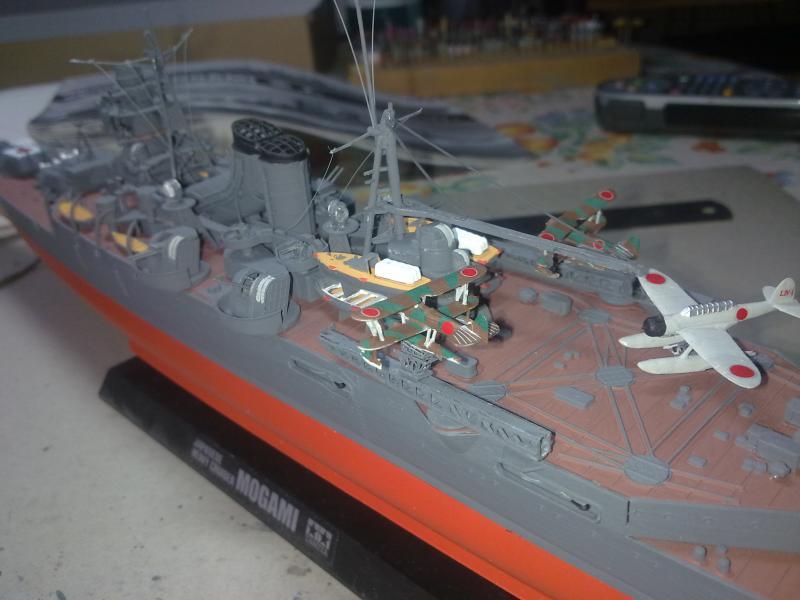 croiseur lourd Mogami au 1/350 par Pascal 94 - Tamiya  - Page 7 595169060120111057