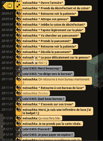 [C.H.U] Rapports d'actions RP de Melouchka 599317hamdoulila2