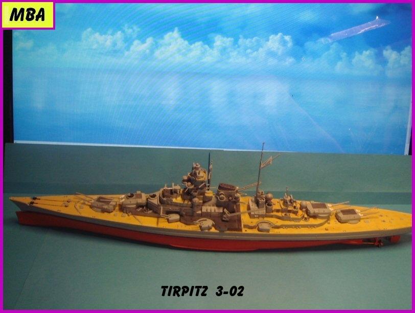 Le TIRPITZ au 1/700ème - DRAGON - Page 2 599486Tirpitz302