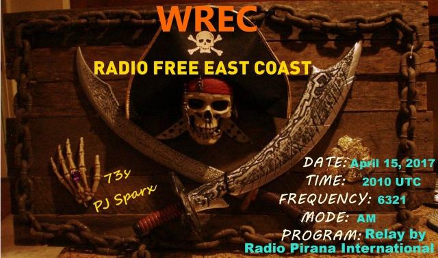 eQSL de WREC 599626WRECEuropeanRelayeQSL7