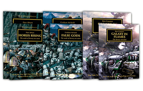 [Horus Heresy] The Opening Trilogy 601732opentrilogy